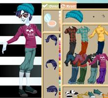 Игры для девочек одевать монстр хай