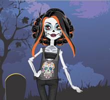 Скелита Калаверас игра Школа Монстров Хай, игра Монстер Хай, Монстр Хай онлайн бесплатно