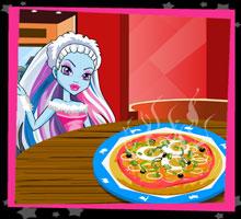 Монстр-Пицца  игра Школа Монстров Хай, игра Монстер Хай, Монстр Хай онлайн бесплатно